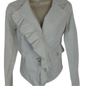 Cabi jacket or blazer denim linen